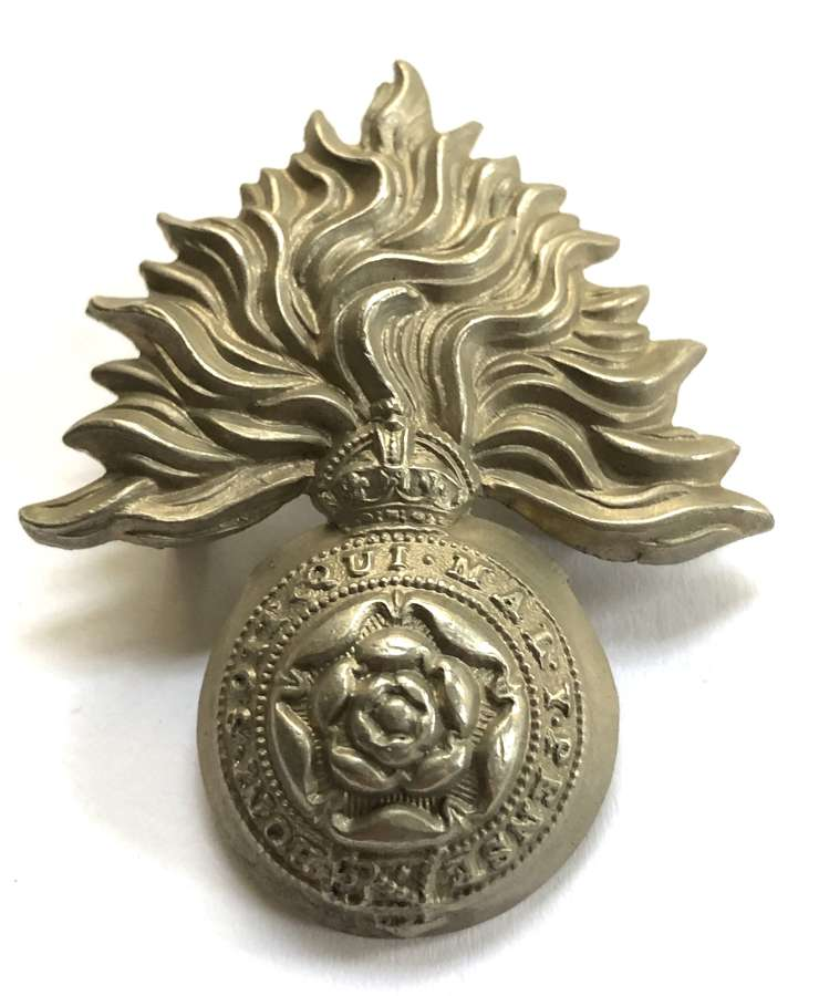 VB Royal Fusiliers (City of London Regiment) Edwardian cap badge