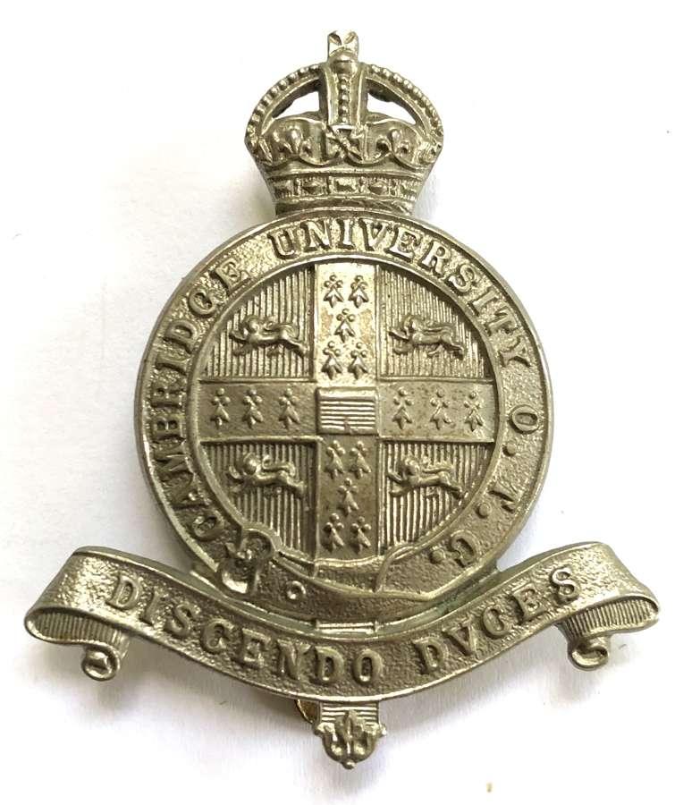 Cambridge University OTC cap badge