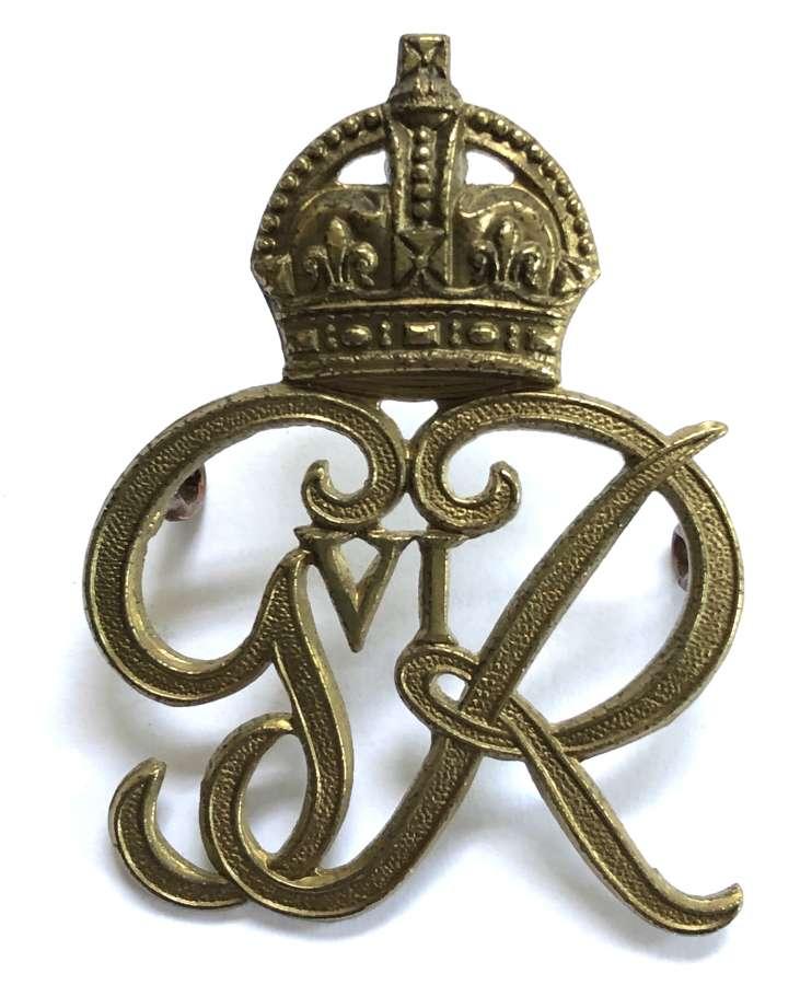 Norfolk Yeomanry 1937-52 George VI cap badge