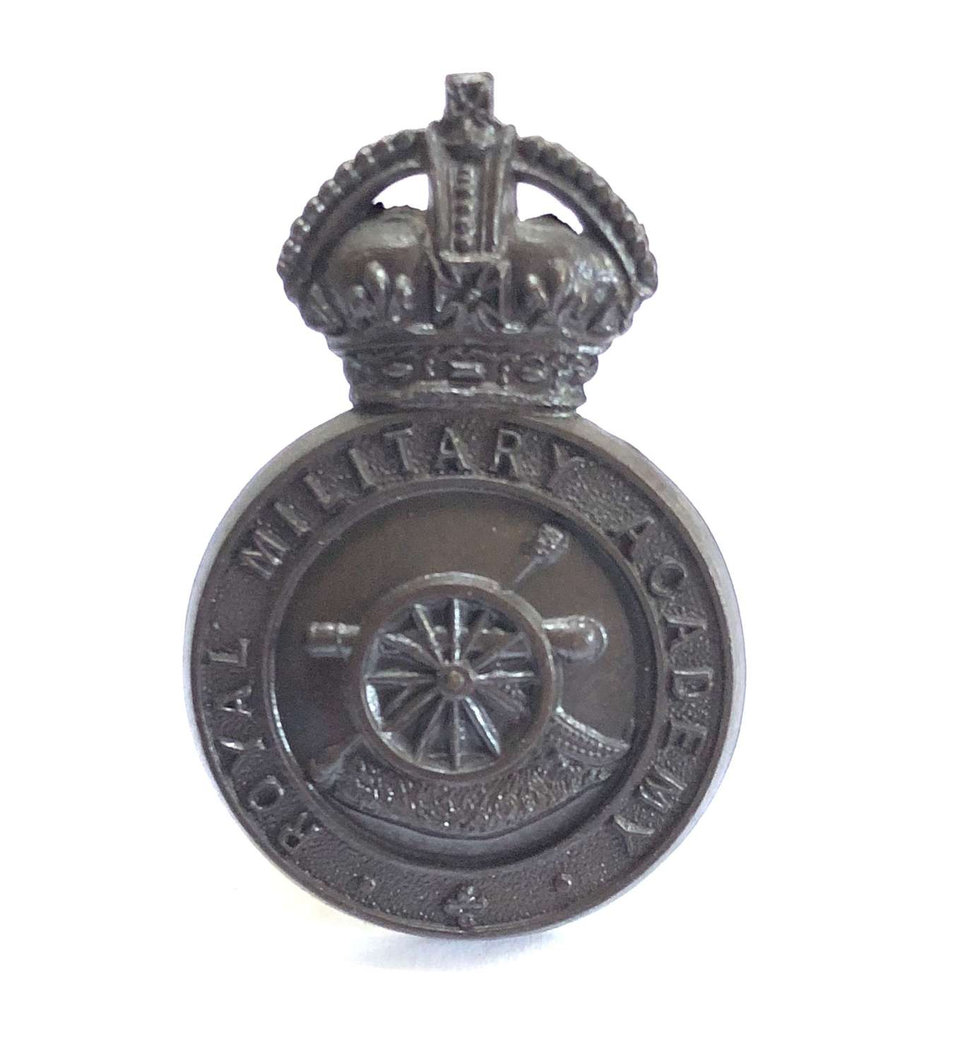 Royal Military Academy, Woolwich post 1902 OSD cap badge