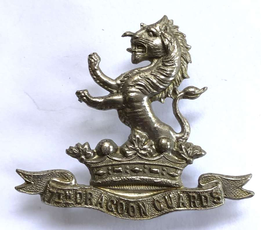 7th (Princess Royal's) Dragoon Guards Victorian cap badge c1898-1906