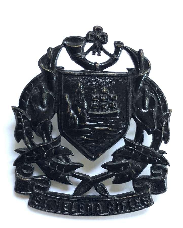 St. Helena Rifles cap badge circa 1914-46