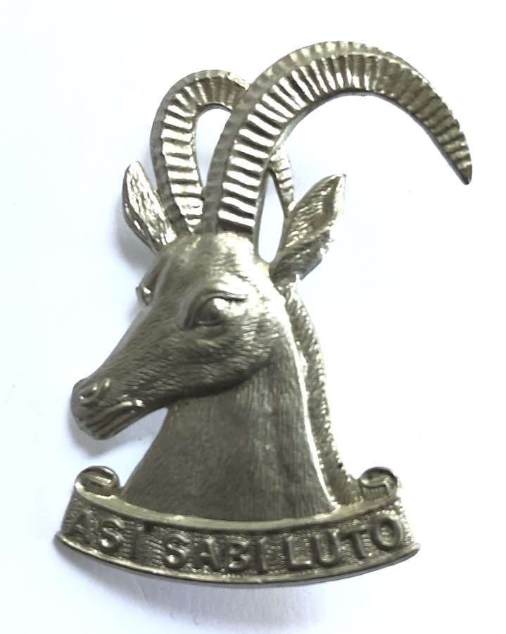 Southern Rhodesia Armoured Car Regiment cap badge by Firmin, London