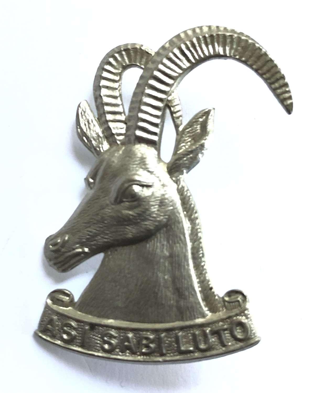 Southern Rhodesia Armoured Car Regiment cap badge by Firmin, London