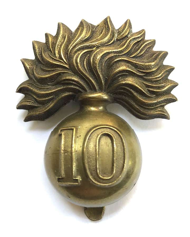 Canada. 10th Bn. Royal Grenadiers early cap badge