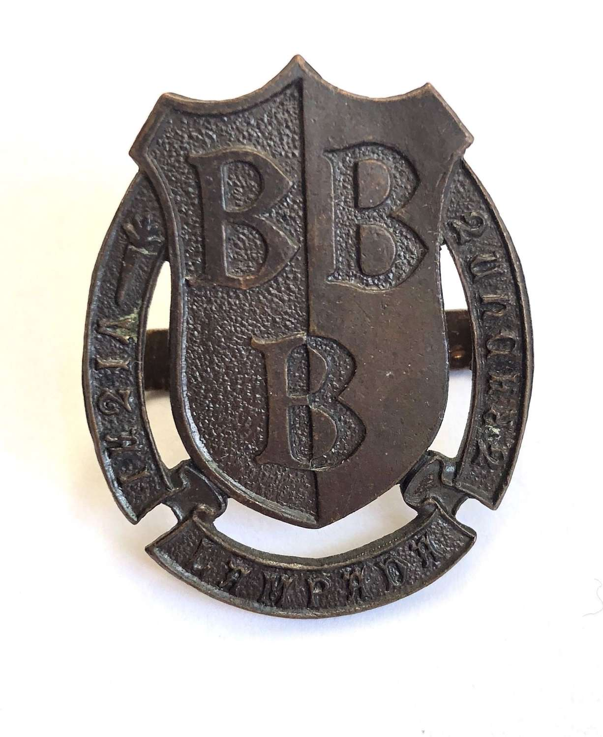 Bridlington School OTC OSD bronze cap badge