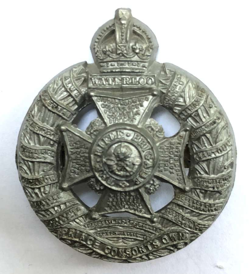 Rifle Brigade WW2 plastic economy cap badge