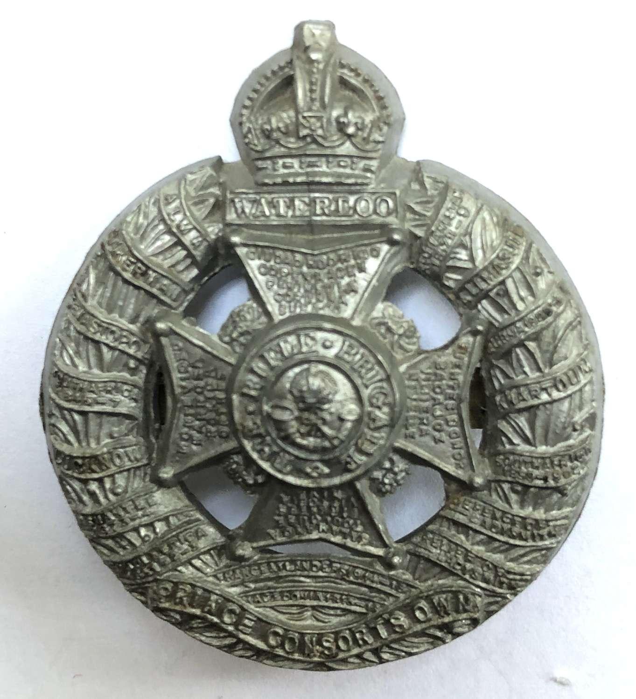 Rifle Brigade WW2 plastic economy cap badge