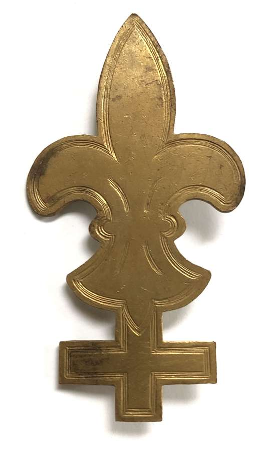 Baden Powell Trained Army Scouts tunic sleeve badge