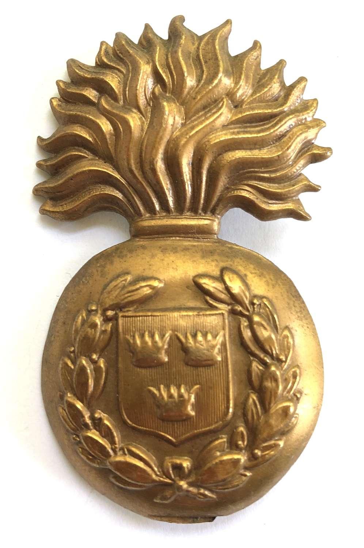 Royal Munster Fusiliers glengarry badge circa 1881-96