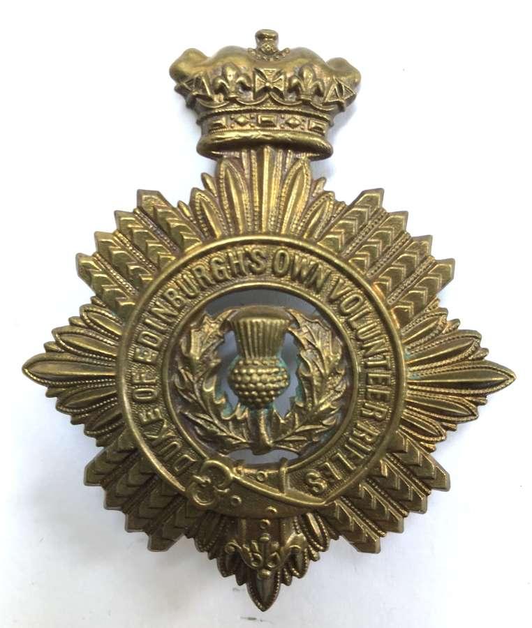 South Africa. Duke of Edinburgh's Own Volunteer Rifles helmet plate