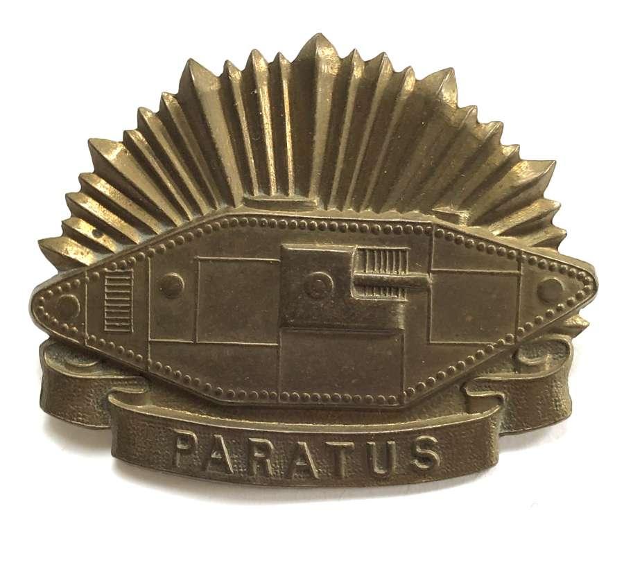 Australian Tank Corps hat badge circa 1939-42