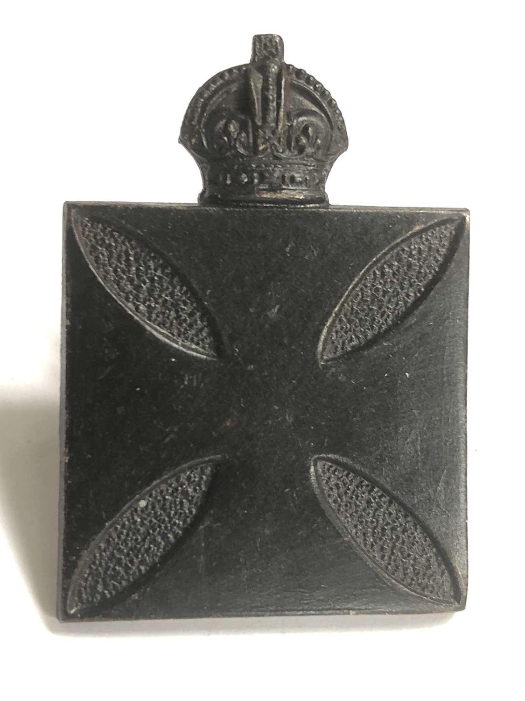 Royal Army Chaplain's Department WW1 cap badge by Ludski & Son, Lond