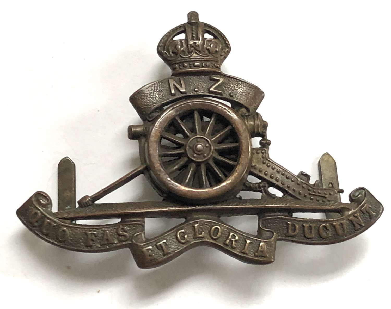 Regiment of New Zealand Artillery OSD cap badge