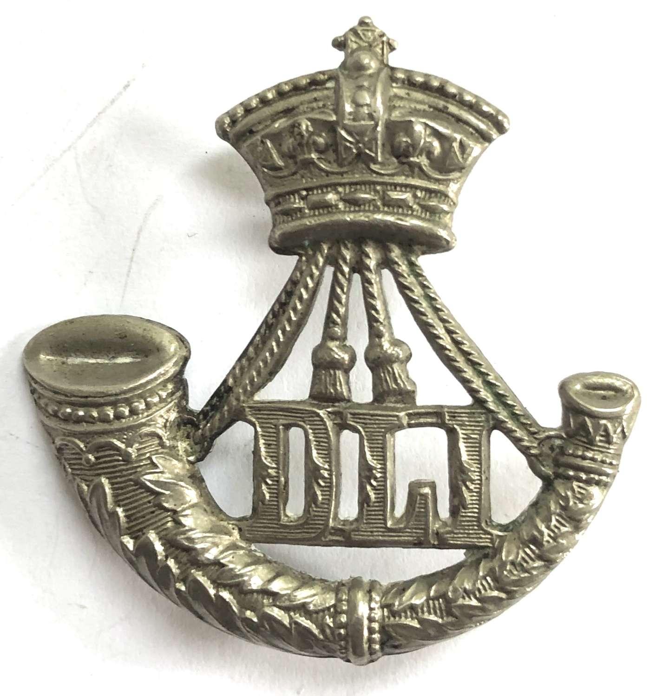 Durham Light Infantry Victorian OR's DLI cap badge circa 1896-1901