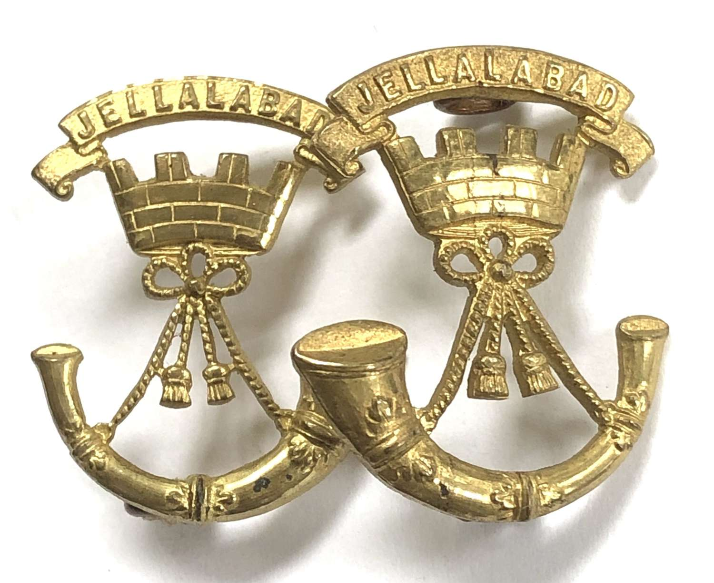 Somerset Light Infantry Officer's facing collars badges c1924-30