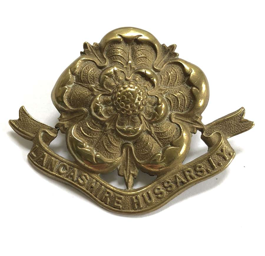 Lancashire Hussars Imperial Yeomanry cap badge