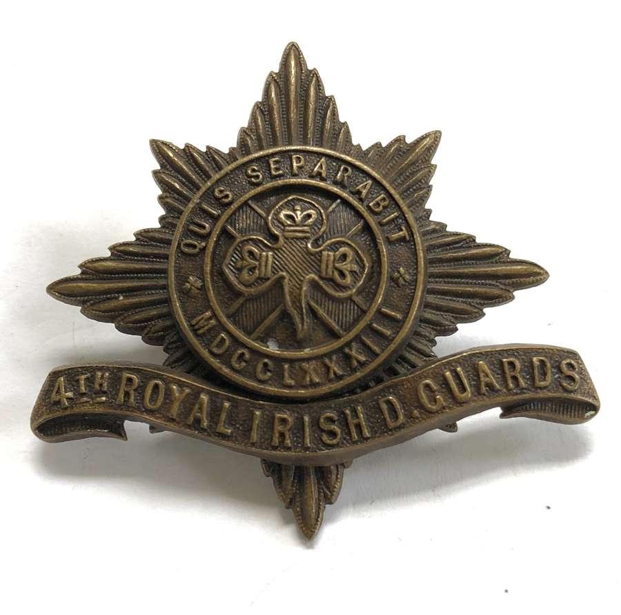 4th Royal Irish Dragoon Guards OSD star circa 1902-22