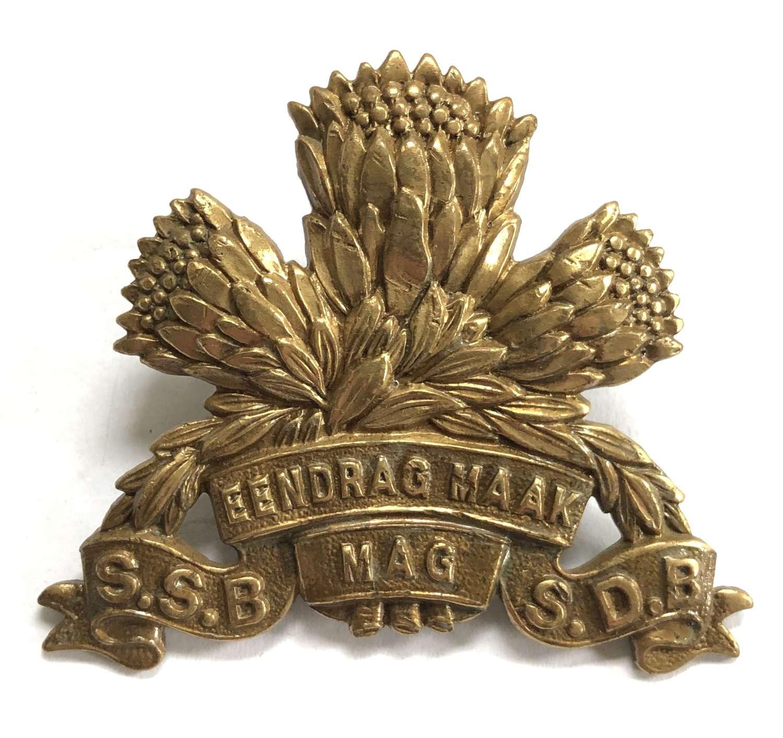 South African Special Service Battalion cap badge circa 1933-42