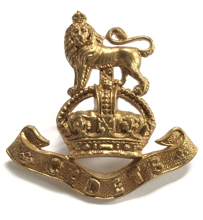 Imperial Yeomanry Cadets brass badge