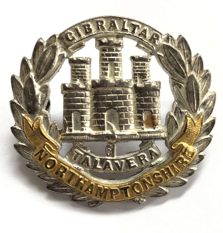 Northamptonshire Regiment post 1900 Officer's cap badge by Gaunt
