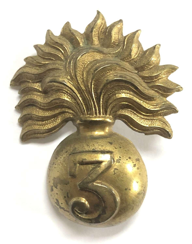 3rd City of London Rifle Volunteers OR's cap badge circa 1898-1908