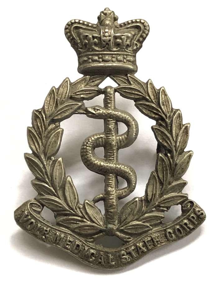 Volunteer Medical Staff Corps Victorian OR's cap badge c1896-1901