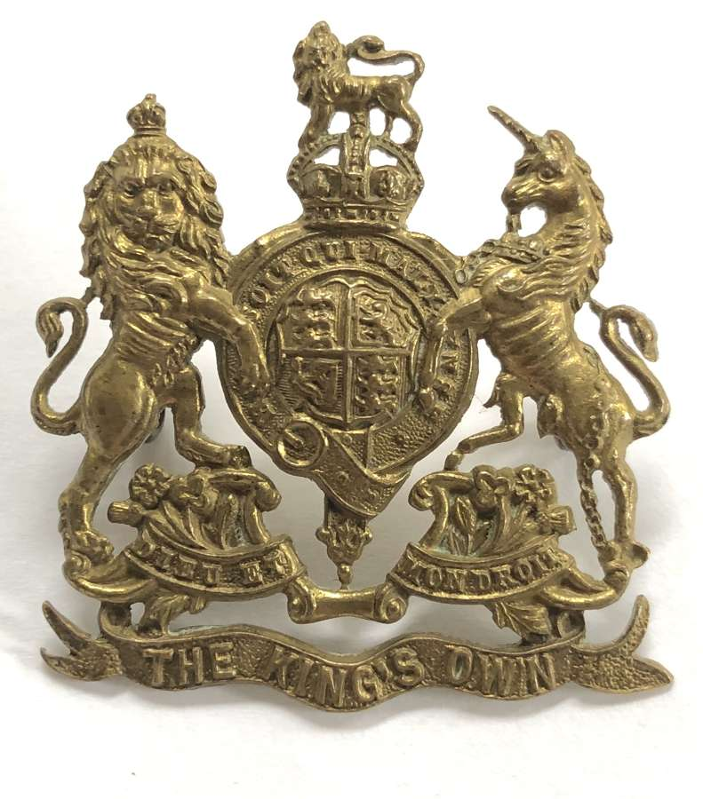 Norfolk Yeomanry (King's Own Royal Regiment) NCO's arm badge.