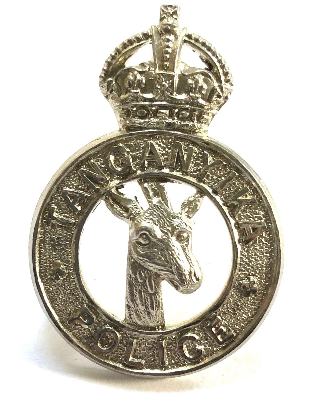 Tanganyika Police pre 1953 cap badge.