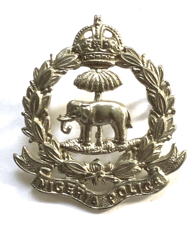 Nigeria Police pre 1953 cap badge