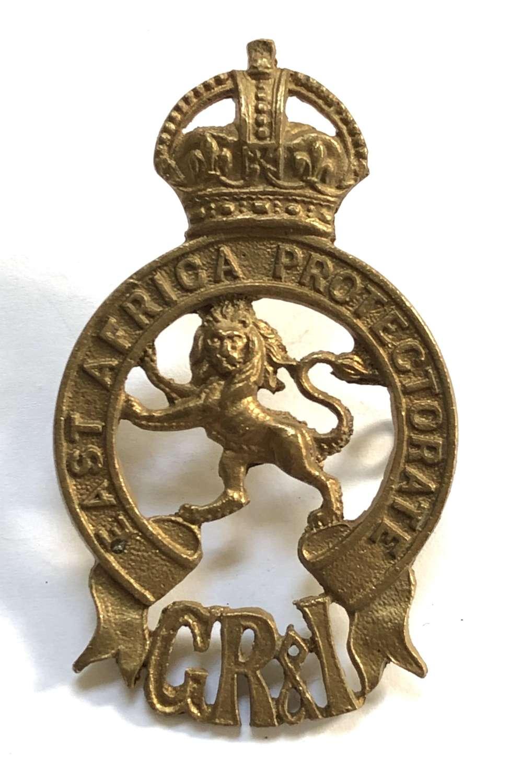 East African Protectorate helmet badge circa 1910-20
