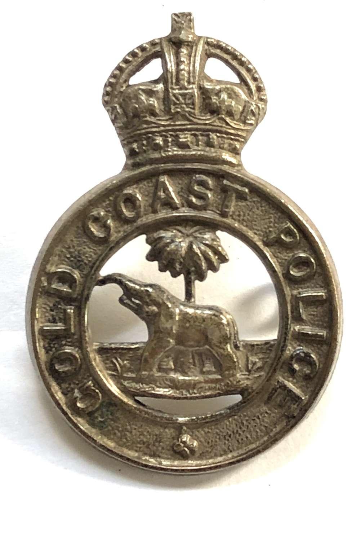 Gold Coast Police pre 1952 cap badge.