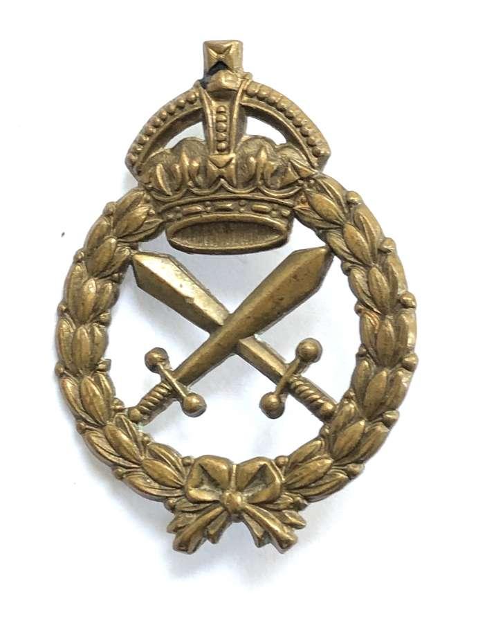 Australian Army Provost Corps pre 1953 slouch hat badsge