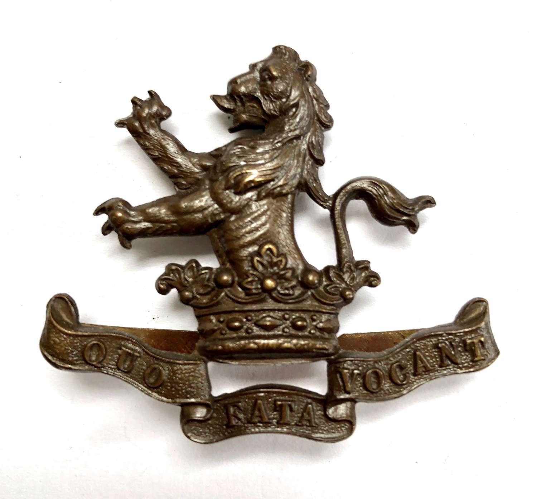 7th (Princess Royal's) Dragoon Guards OSD cap badge c1906-22