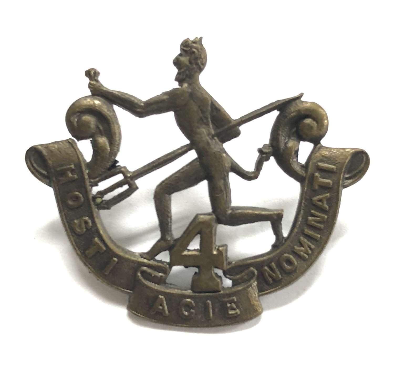Canadian 190th Bn. (Winnipeg Rifles) CEF 1916 cap badge by Birks