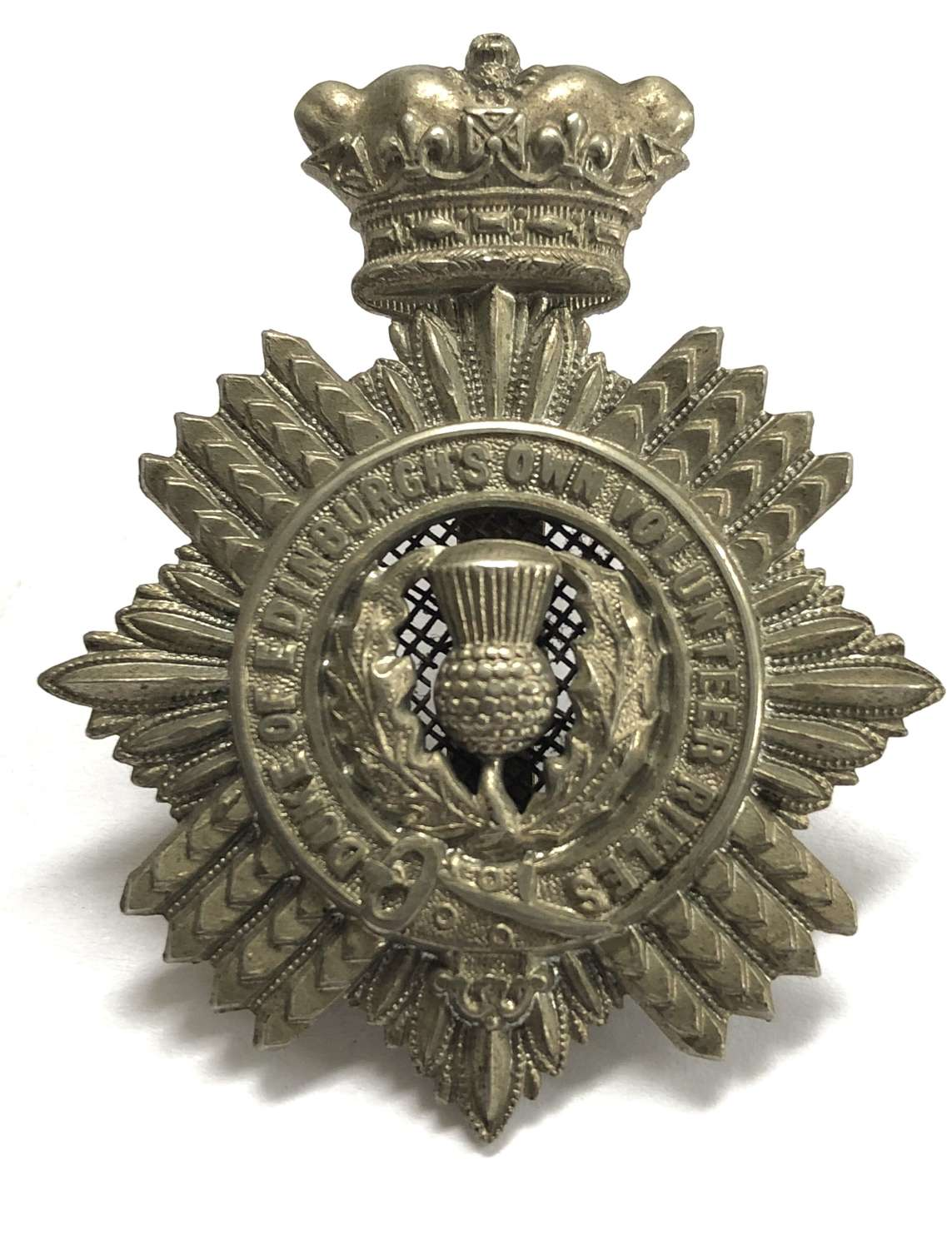 South Africa. Duke of Edinburgh's Own Volunteer Rifles cap badge