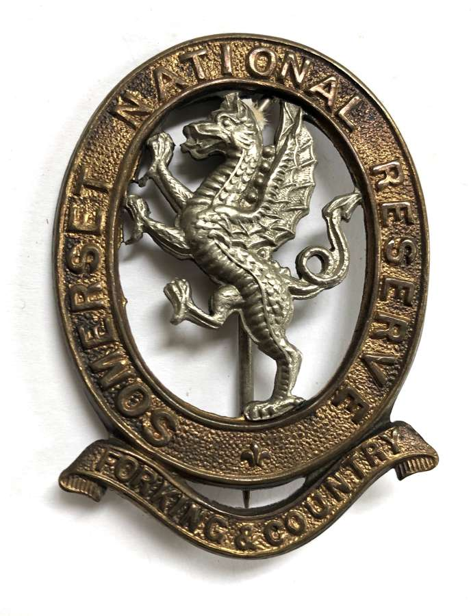 Somerset National Reserve large pinback badge.