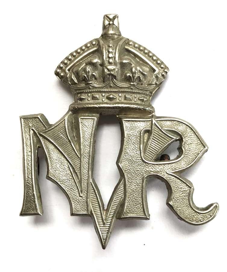 Indian Army. Nagpur Volunteer Rifles scarce Victorian cap badge