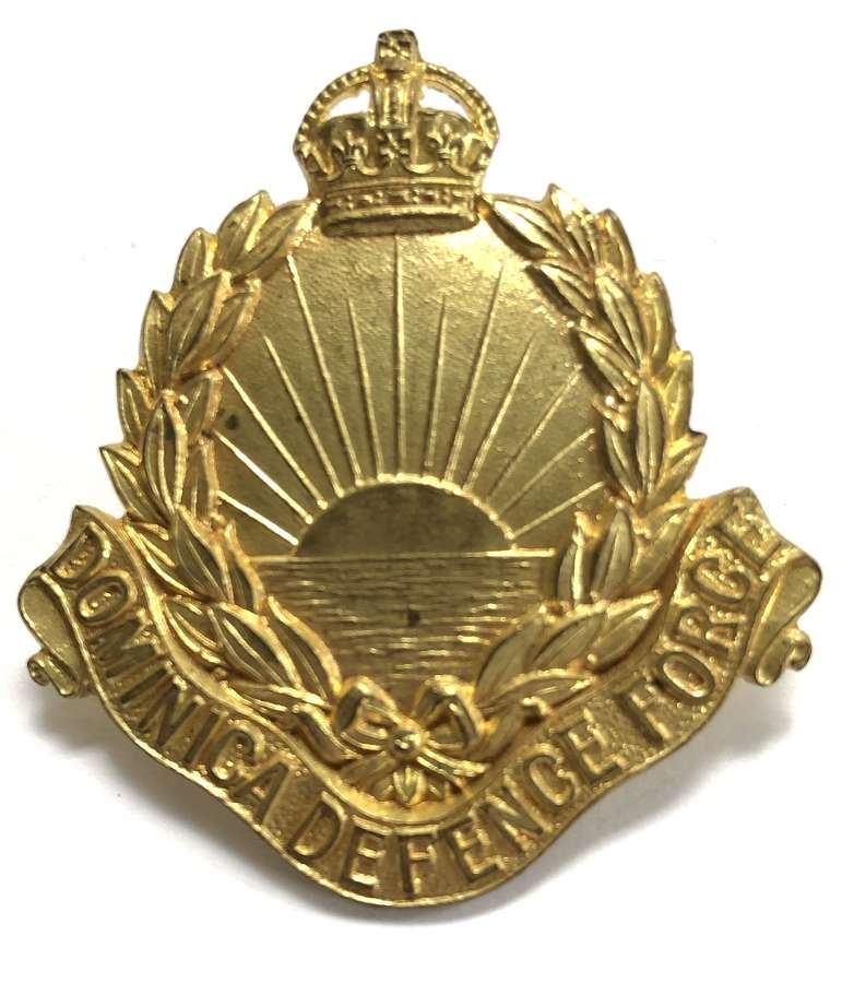 Dominica Defence Force OR's cap badge