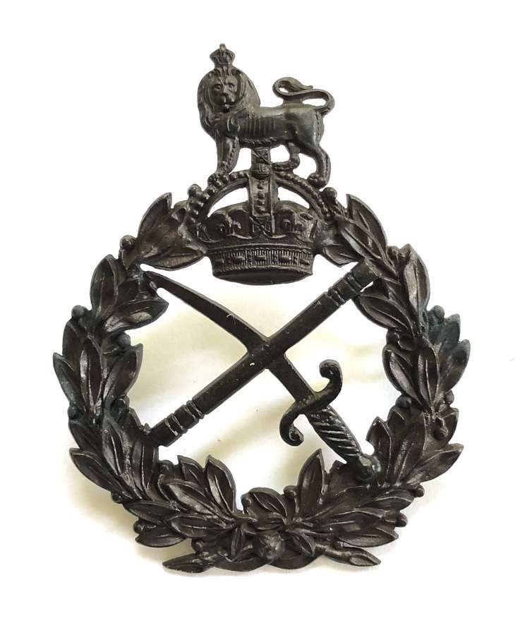 General Officer's post 1902 OSD cap badge