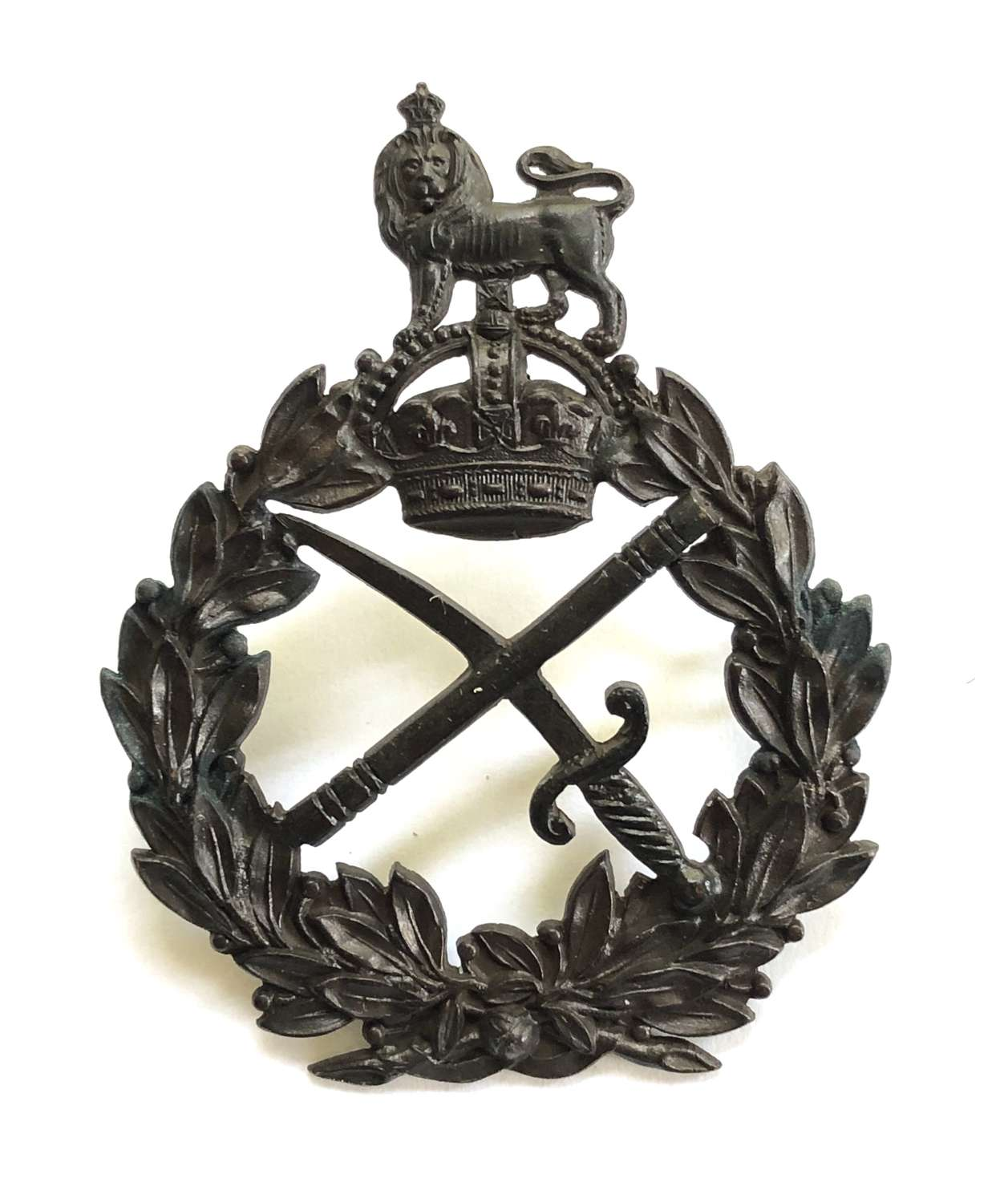 General Officer's post 1902 OSD cap badge