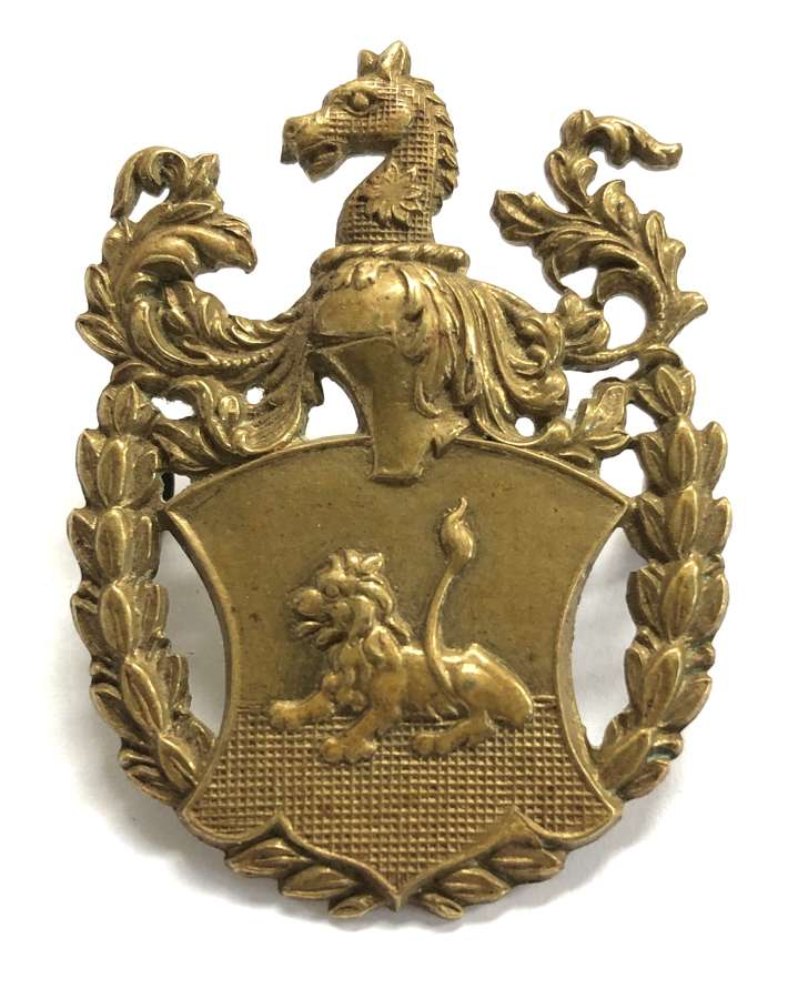 Portsmouth Grammar School OTC pre 1948 cap badge