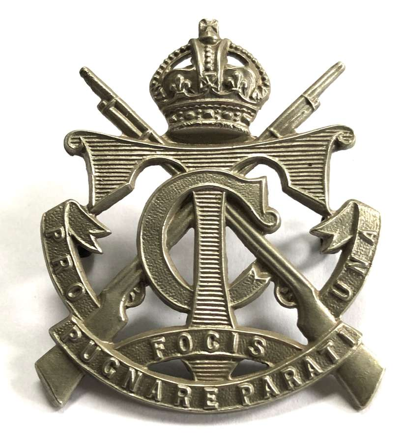 South African Transvaal Cadets head-dress badge
