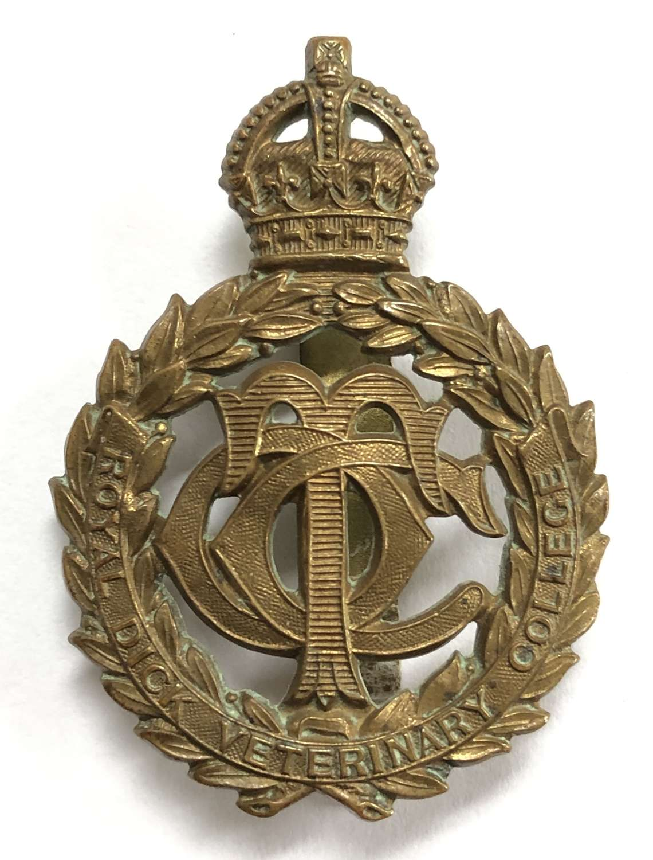 Royal Dick Veterinary College OTC (Edinburgh) Scottish cap badge