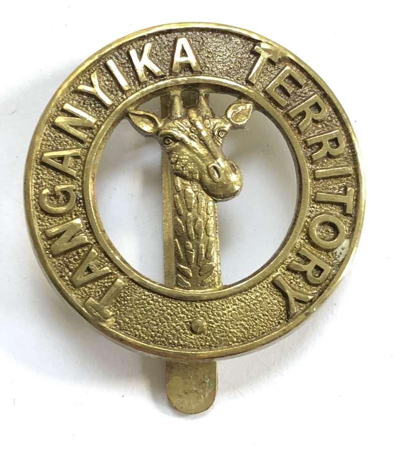 Tanganyika Territory post 1911 Officer's pagri badge by Firmin Londo