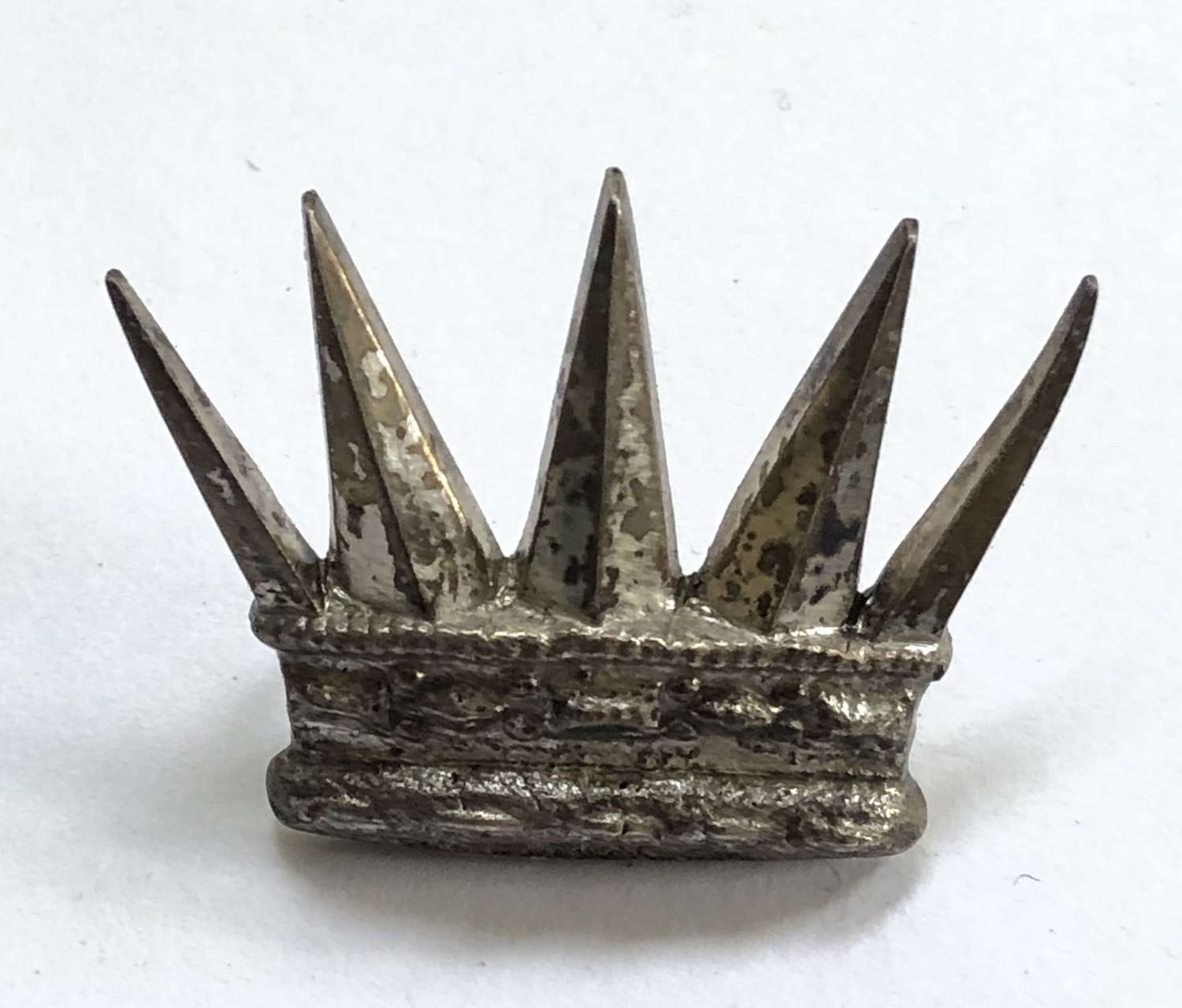Royal East Middlesex Militia Victorian Officer's forage cap badge
