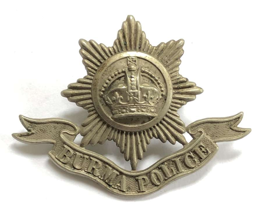 Burma Police cap badge