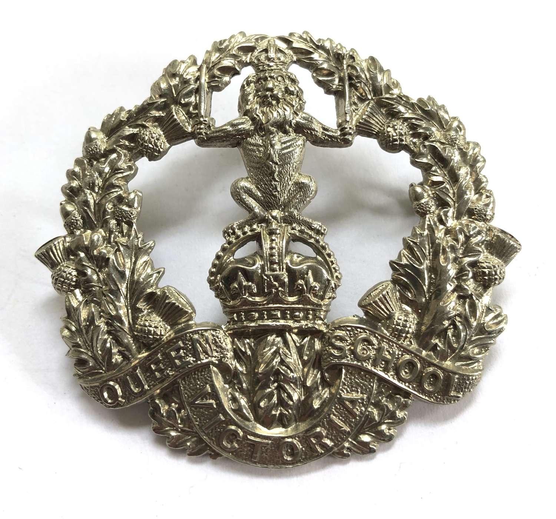 Queen Victoria School (Dunblane) pre 1953 glengarry badge