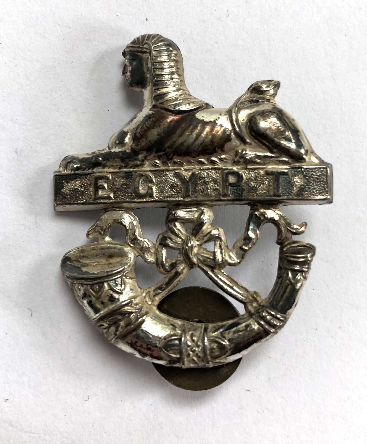 Royal Ulster Rifles Officer's pouch badge