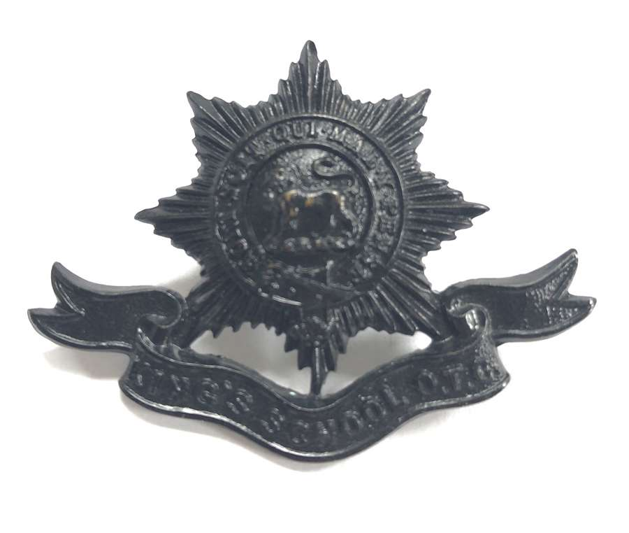 King's School, Worcester OTC cap badge